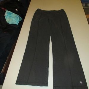 Womens Black Danskins Pants Size Small